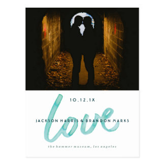 El amor es invitaciones gay del boda de la