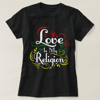El amor es mi religión camiseta
