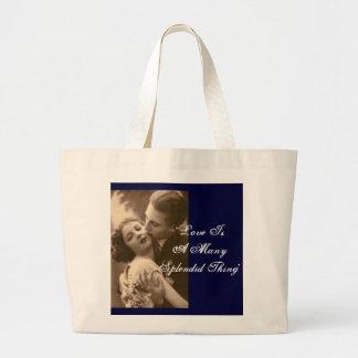 El amor es muchos bolso de la cosa espléndida bolsas
