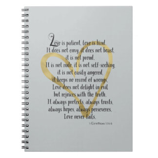 El amor es paciente cuadernos