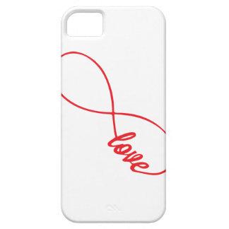 El amor es para siempre caso de Iphone iPhone 5 Case-Mate Coberturas