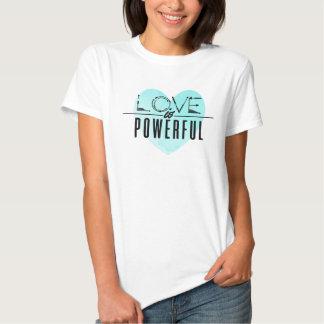 El amor es potente (la aguamarina) camisas
