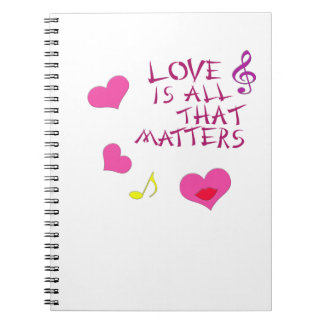 El amor es todo ese diario de las materias libro de apuntes