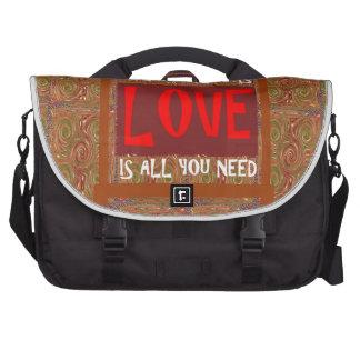 El amor es TODO lo que usted necesita - decir de Bolsas Para Portátil