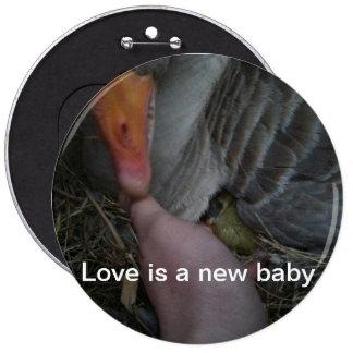 El amor es un nuevo bebé pin