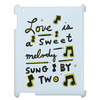 """El """"amor es una melodía dulce, cantada por"""" caso"""