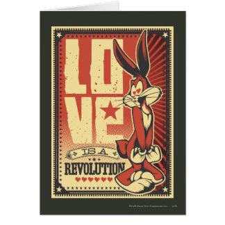 El amor es una revolución tarjeta