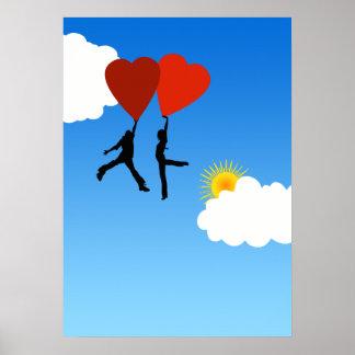 El amor está en el aire posters