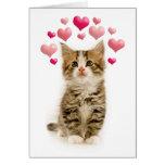 El amor está en la tarjeta del día de San Valentín