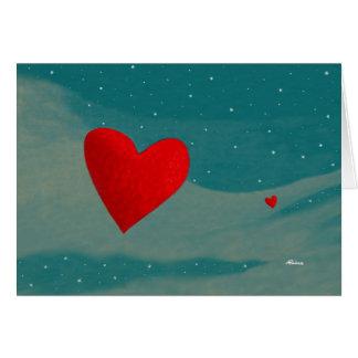 El amor está viniendo su manera… Por Rino Li Causi Tarjeta De Felicitación