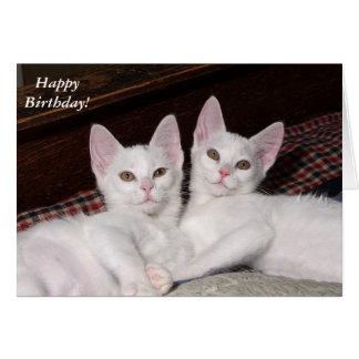 El amor fraternal hermana la tarjeta de cumpleaños