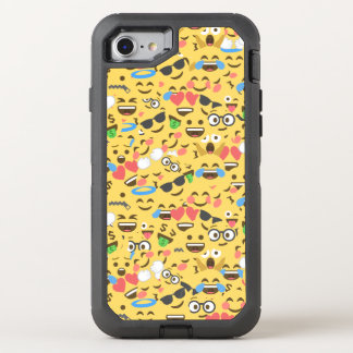 el amor lindo del emoji oye el modelo de la risa funda OtterBox defender para iPhone 8/7
