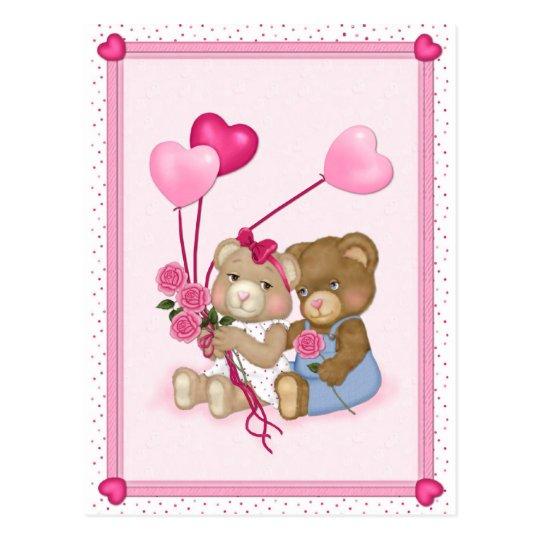 El amor lleva la postal