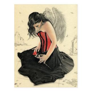 El amor nunca muere el estar de luto de angelPostc Postal