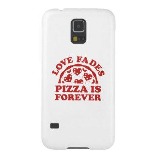 El amor se descolora pizza es Forever Carcasas Para Galaxy S5