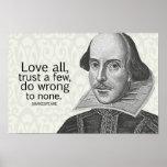 El amor todo de Shakespeare, confía en algunos, ha Poster