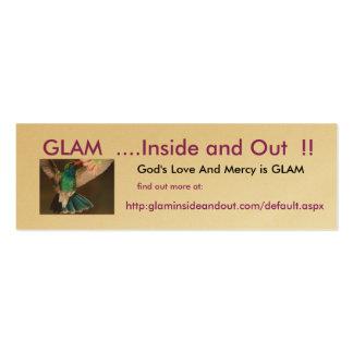 El amor y la misericordia de dios es tarjeta tarjetas de visita mini