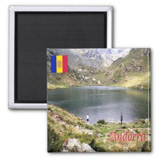 ÉL - Andorra - Estany de Tristaina de Baix Imán Cuadrado