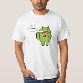 El androide contra Apple, y el ganador es Camiseta