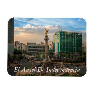 El Angel De Independencia Imanes Rectangulares
