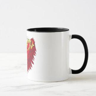 El ángel de la madre se va volando la taza