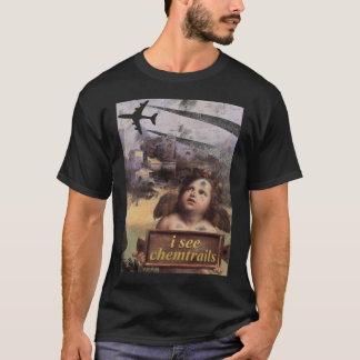 El ángel en Madonna de Foligno considera Camiseta