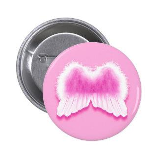 El ángel rosado se va volando el botón redondo de