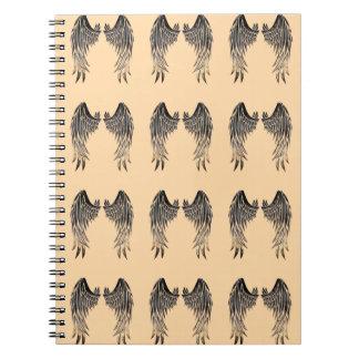 El ángel se va volando el cuaderno