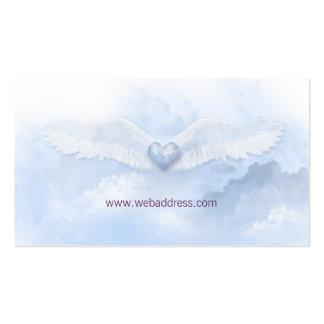 El ángel se va volando la tarjeta de visita cristi
