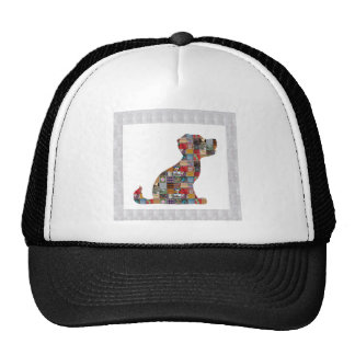 El animal de mascota del perro de PERRITO embroma Gorras De Camionero