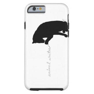 """el """"animal escribe """" funda de iPhone 6 tough"""