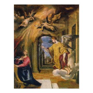 """""""El Annunciation Tarjetón"""