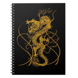 El año chino del dragón 2012 libro de apuntes