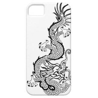 El Año Nuevo chino, resuelve el dragón iPhone 5 Funda