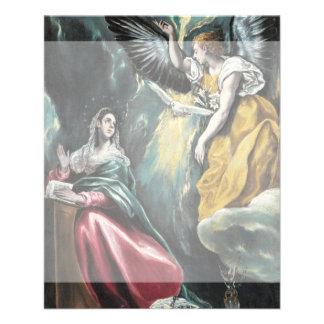 El anuncio de El Greco Tarjeta Publicitaria