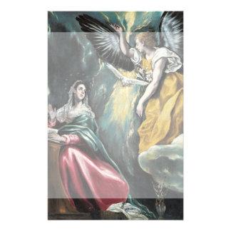 El anuncio de El Greco Folleto 14 X 21,6 Cm