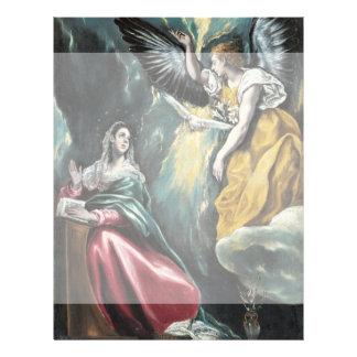 El anuncio de El Greco Folleto 21,6 X 28 Cm