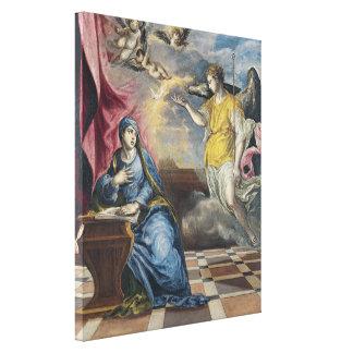 El anuncio - El Greco Lona Estirada Galerias