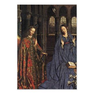 El anuncio en enero van Eyck