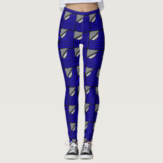 El apelar en azul leggings