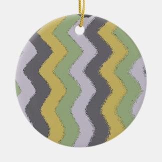 el ápice barra 11x17 la barra ripple.png adorno navideño redondo de cerámica