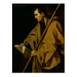El apóstol St Thomas, c.1619-20 Tarjetas Postales