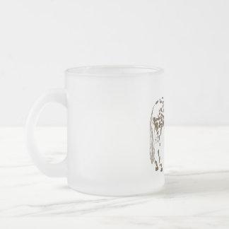 El Appaloosa mancha la taza