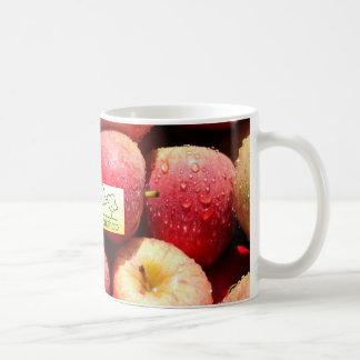 El applemug #1 del taller de la sidra taza básica blanca