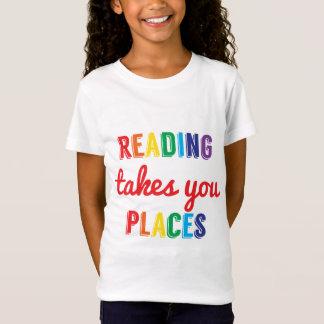 El aprendizaje de la lectura del caramelo le toma camiseta