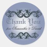 El Arabesque le agradece (el azul del bígaro) Etiqueta