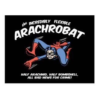 ¡El Arachrobat! Postal