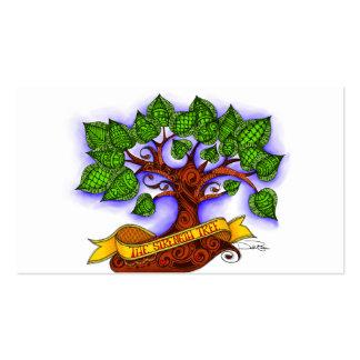 El árbol de la fuerza tarjetas de visita