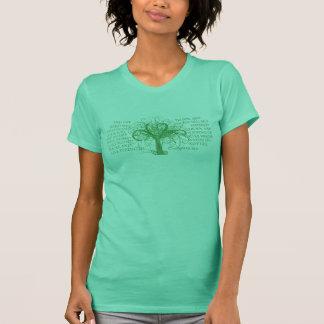 El árbol de la vida de Lydia (de lado a lado) Camiseta