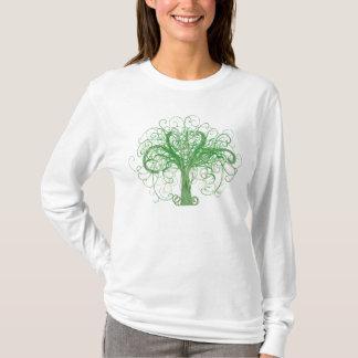 El árbol de la vida de Lydia (frente y parte Camiseta